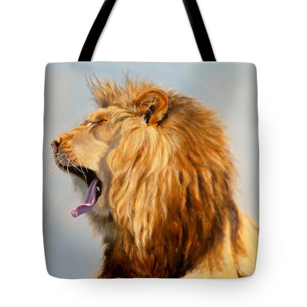 Bed Head - Lion Tote Bag