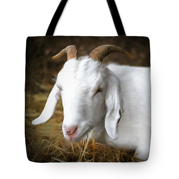 Bedded Down Tote Bag by Marion Johnson