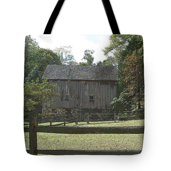 Bedford Barn Tote Bag