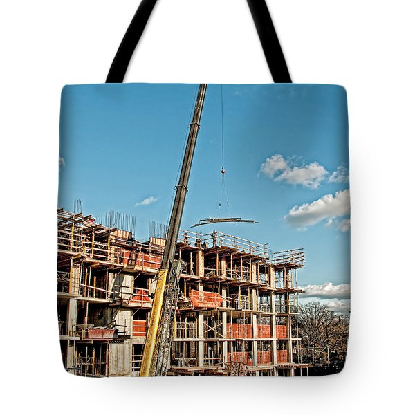 Tote Bag featuring the photograph Bedford4 by Steve Sahm