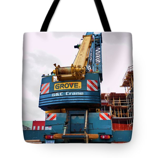 Tote Bag featuring the photograph Bedford5 by Steve Sahm