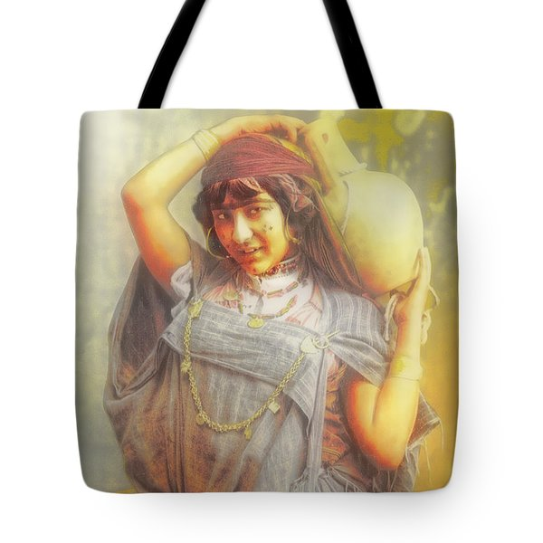 Bedouine Water Carrier Tote Bag