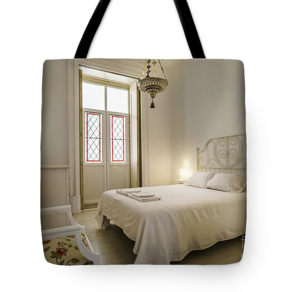 Tote Bag featuring the photograph Bedroom Apartment In The Heart Of Cadiz by Pablo Avanzini