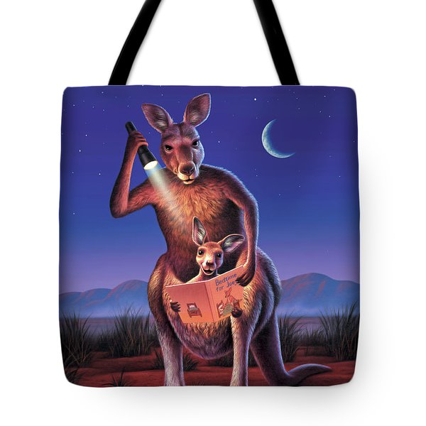 Bedtime For Joey Tote Bag by Jerry LoFaro