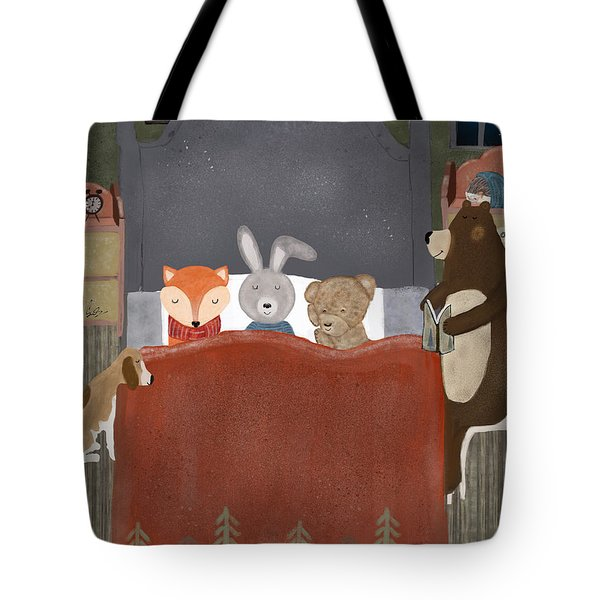 Bedtime Stories Tote Bag