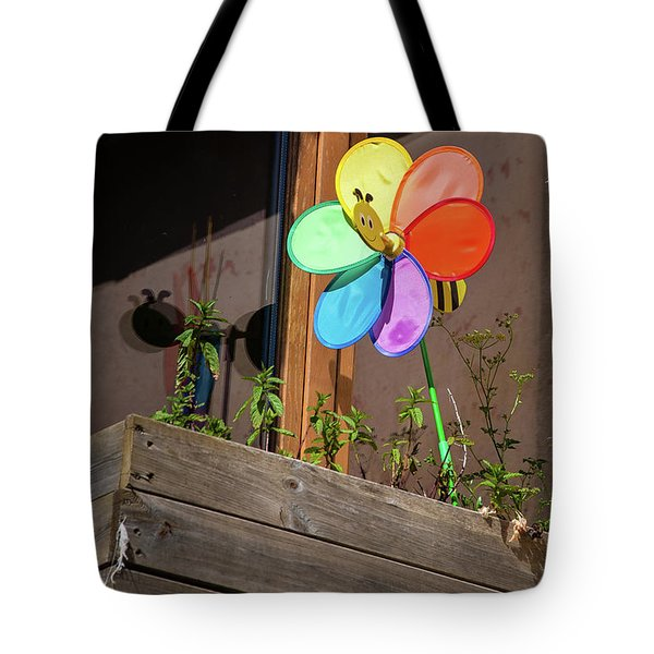 Bee A Wind Spinner? Tote Bag