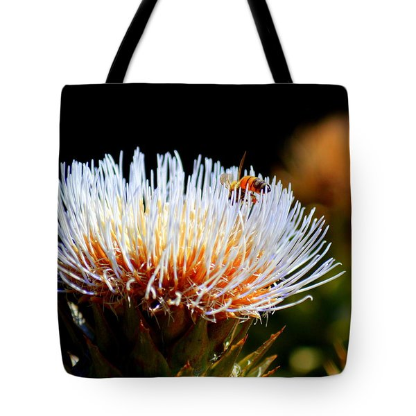 Bee And Artichoke Tote Bag