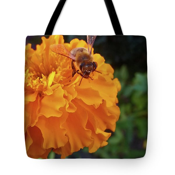 Bee And Marigold Tote Bag