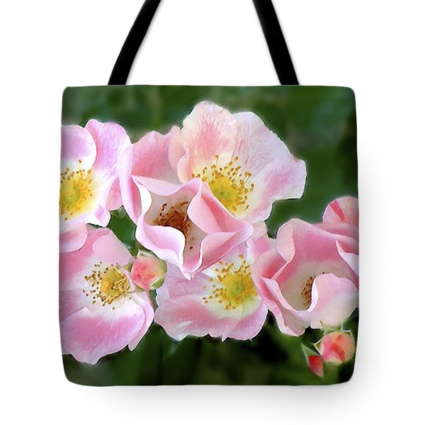 Bee And Roses Tote Bag