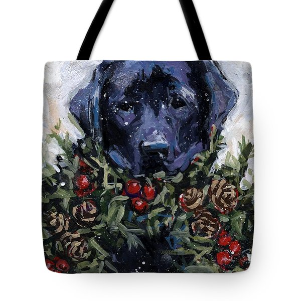 Bee Bows Tote Bag by Molly Poole
