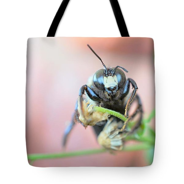 Bee Busy Tote Bag