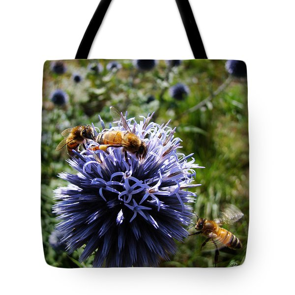 Bee Circles Tote Bag