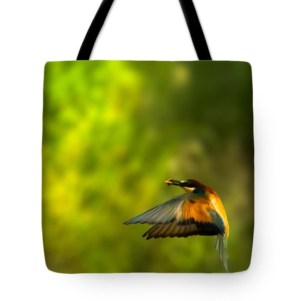 Bee Eater Tote Bag
