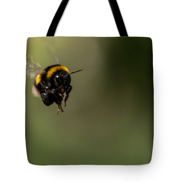 Bee Flying - View From Front Tote Bag