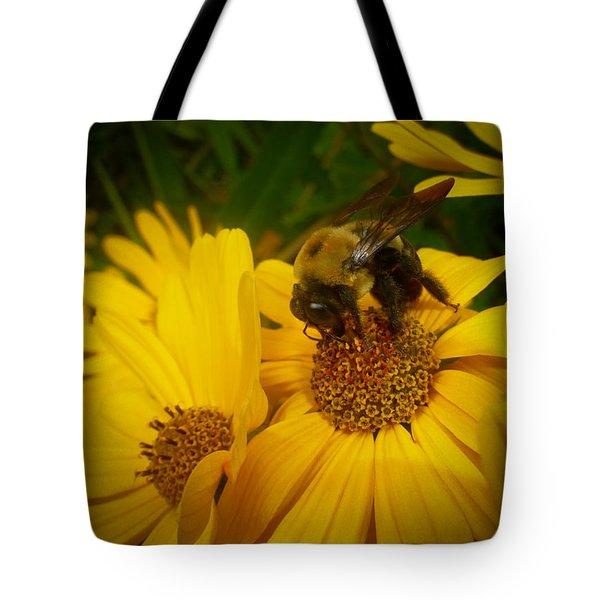 Bee Happy Tote Bag