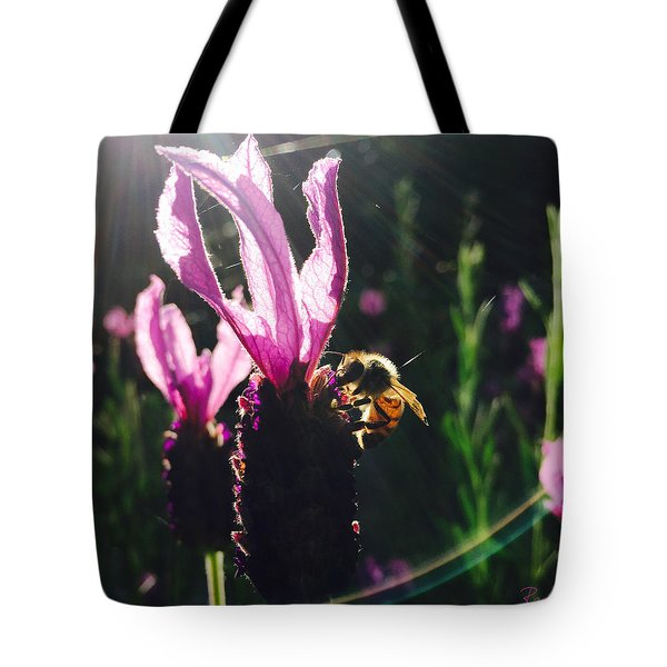 Bee Illuminated Tote Bag