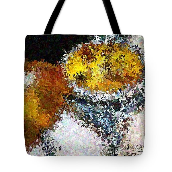 Bee Impression Tote Bag