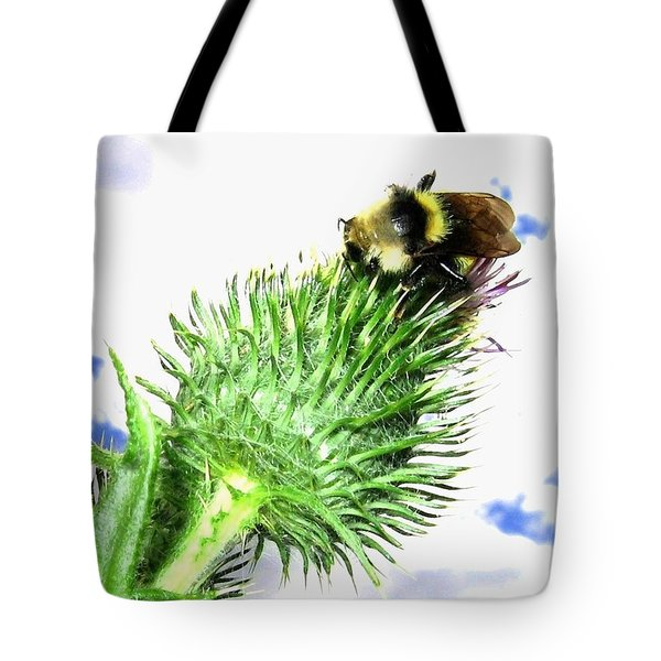 Bee-line 4 Tote Bag by Will Borden
