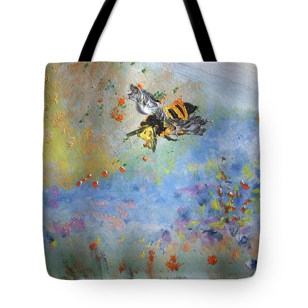 Bee My Honey Tote Bag by Judith Desrosiers