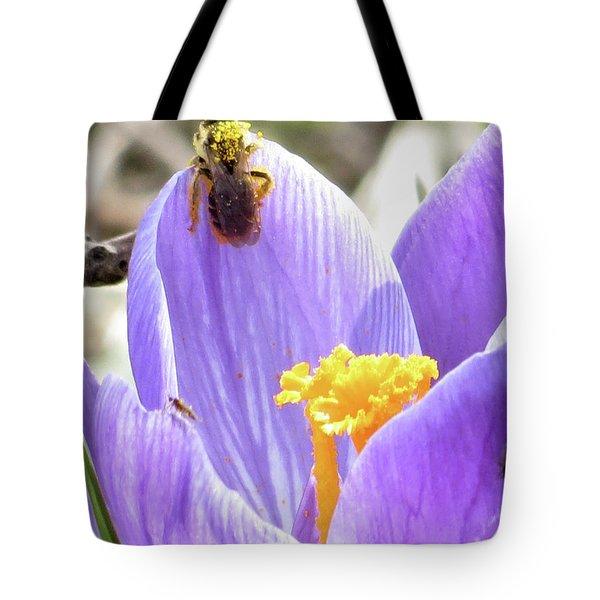 Bee Pollen Tote Bag