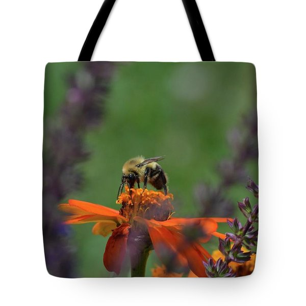 Bee Shot  Tote Bag