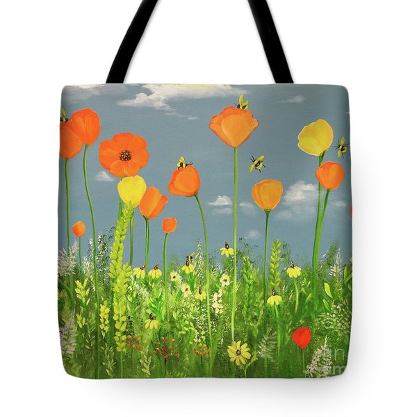 Bee-utiful Day Tote Bag