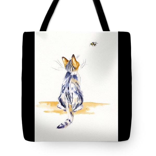 Bee Watchful Tote Bag