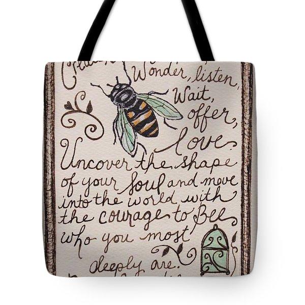 Bee You Tote Bag