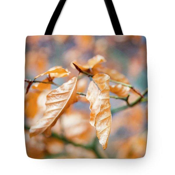 Beech Garland Tote Bag