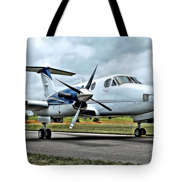 Beechcraft Kingair 2 Tote Bag