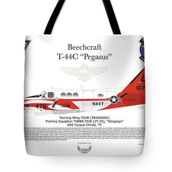 Beechcraft T-44c Pegasus Tote Bag