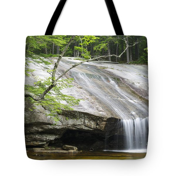 Beede Falls - Bearcamp River New Hampshire Tote Bag