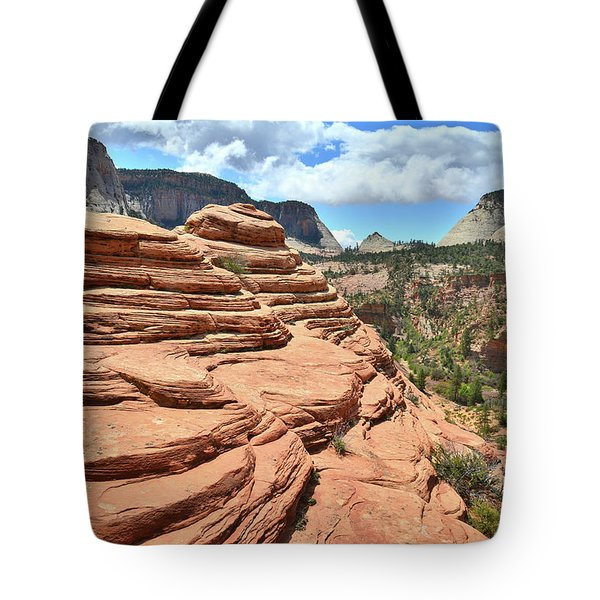 Beehives High Above Zion Tote Bag