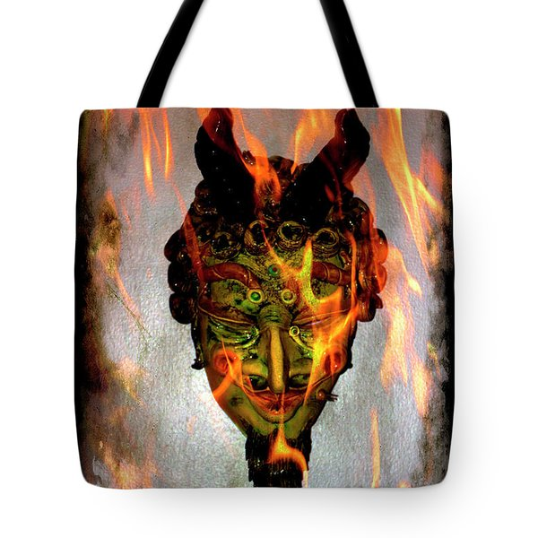 Tote Bag featuring the photograph Beelzebub Iv by Al Bourassa