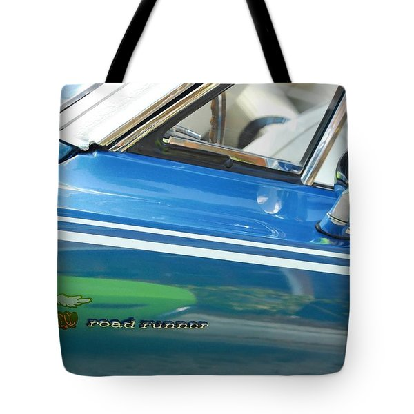 Beep Beep Hot Rod Tote Bag