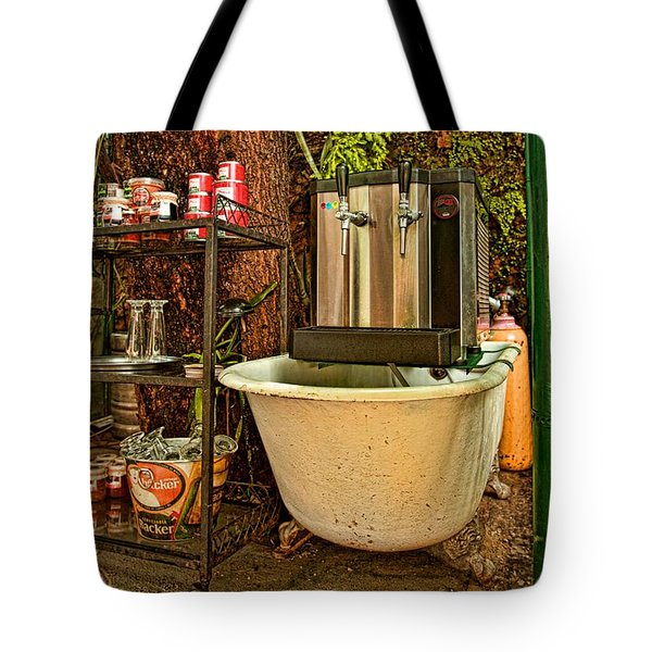 Tote Bag featuring the photograph Beer Joint by Kim Wilson