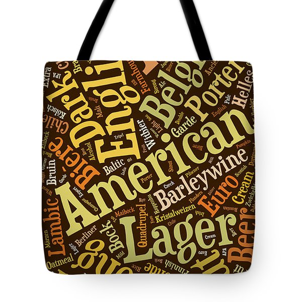 Beer Lover Cell Case Tote Bag by Edward Fielding