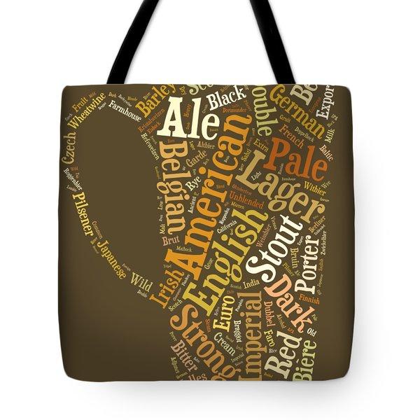 Beer Lovers Tee Tote Bag