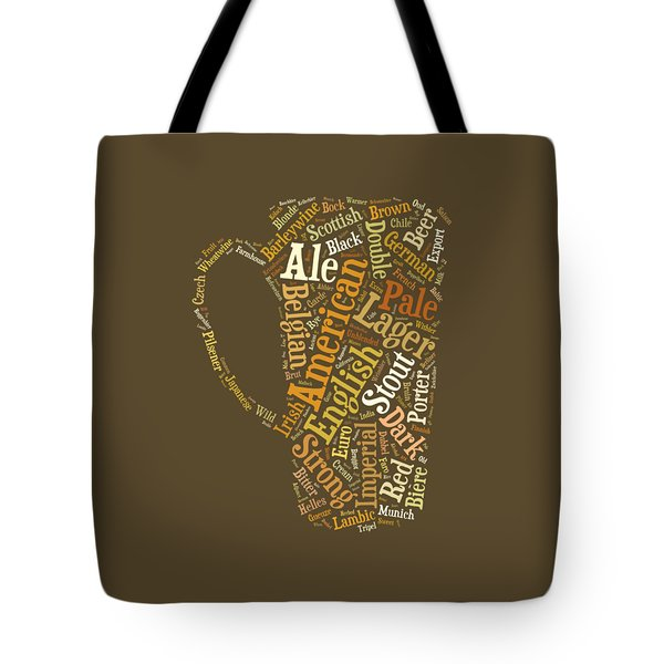 Beer Lovers Tee Tote Bag