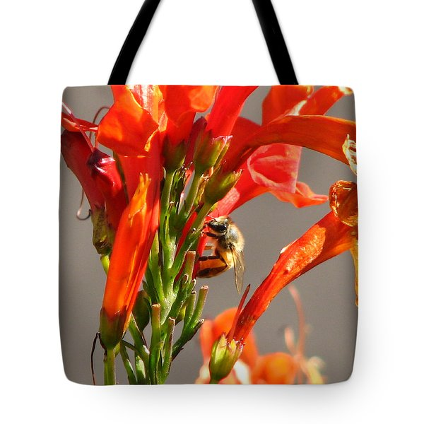 Day In A Life Of A Bee Tote Bag