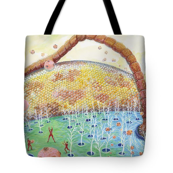 Bee's Eye And Antenna Tote Bag
