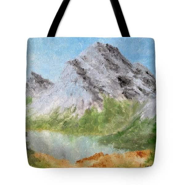 Tote Bag featuring the painting Bee's Eyed View by Kevin Daly