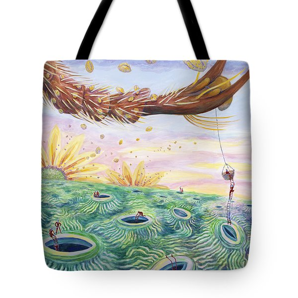 Bee's Foot Tote Bag