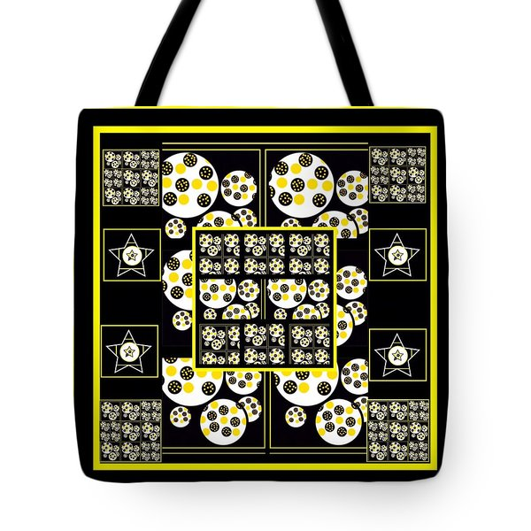 Bees Traveling Beyond Us Overlapping Tote Bag