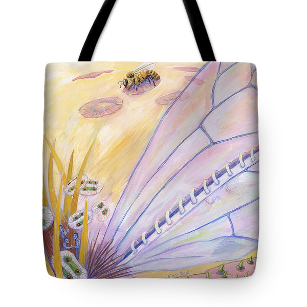 Bee's Wings Tote Bag