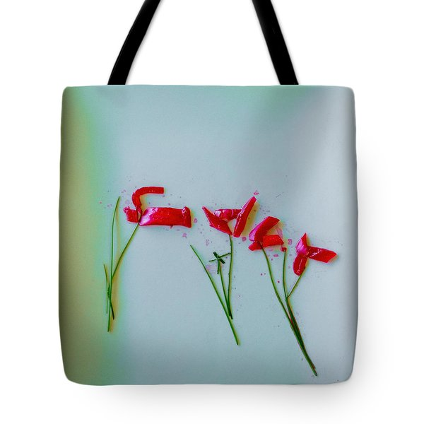 Beet The Blues Tote Bag
