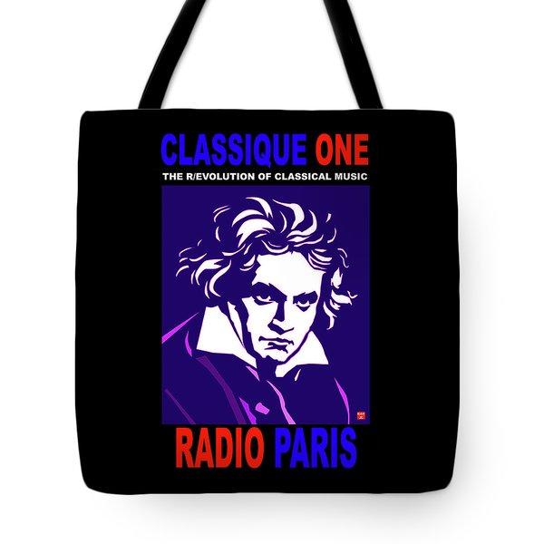 Beethoven Classique One Radio Paris  Tote Bag