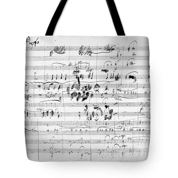 Beethoven: Ghost Trio Tote Bag by Granger