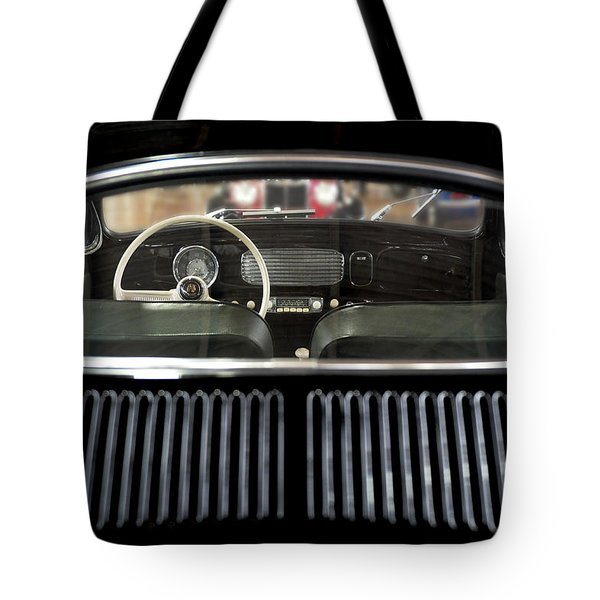 Beetle Interior  Tote Bag