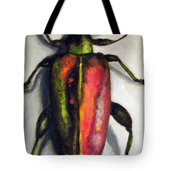 Beetle Tote Bag by Leah Saulnier The Painting Maniac